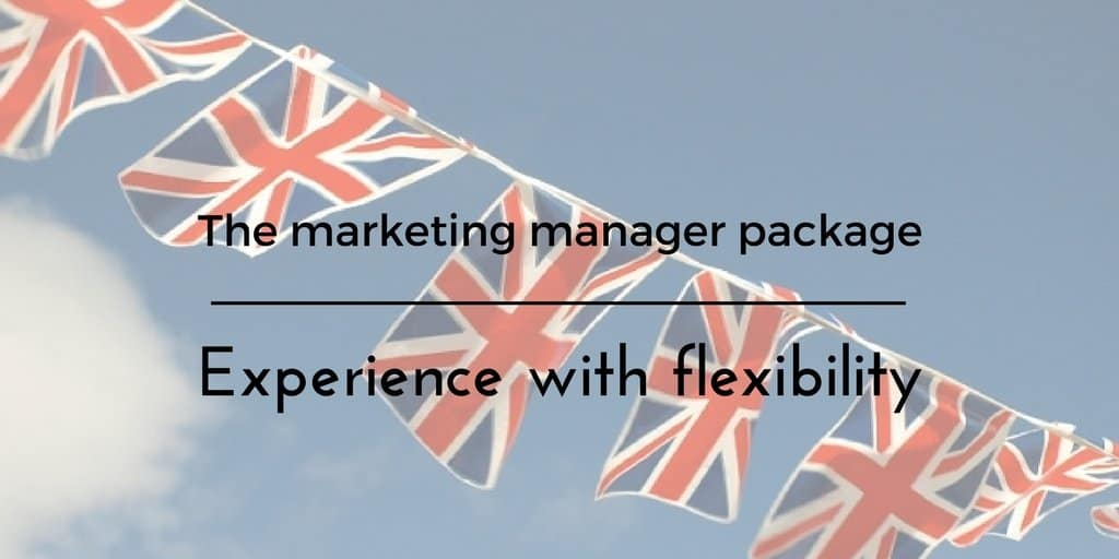 Hiring Your Own Flexible Marketing Manager