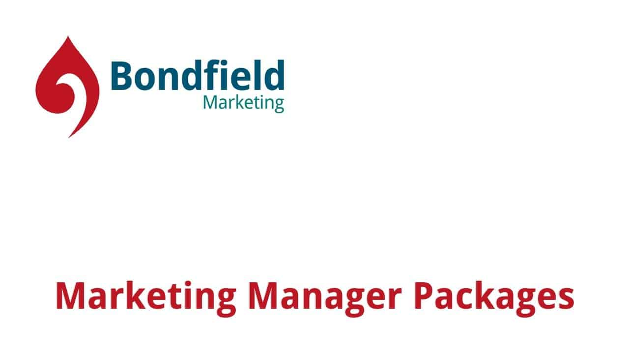Bondfield Marketing Manager Packages