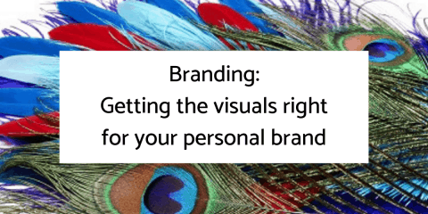 Branding: Getting the visuals right for your personal brand