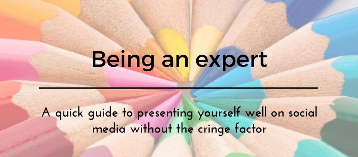 Being an expert