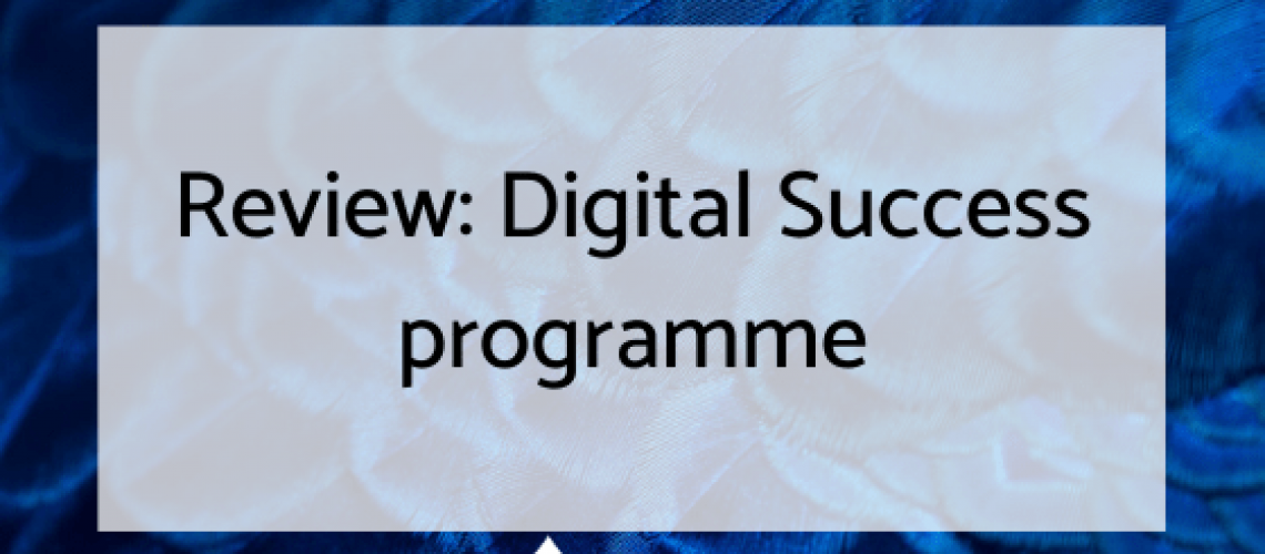 Digital success review header