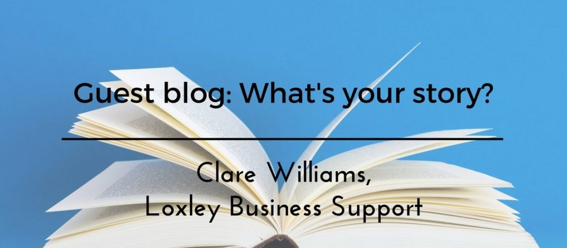 What's Your Story, Guest Blog