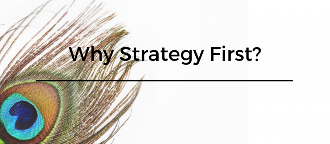 Why Strategy First